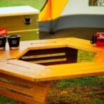 冬キャンプの必須テーブル