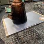 熱にも汚れにも強い 焚き火テーブル